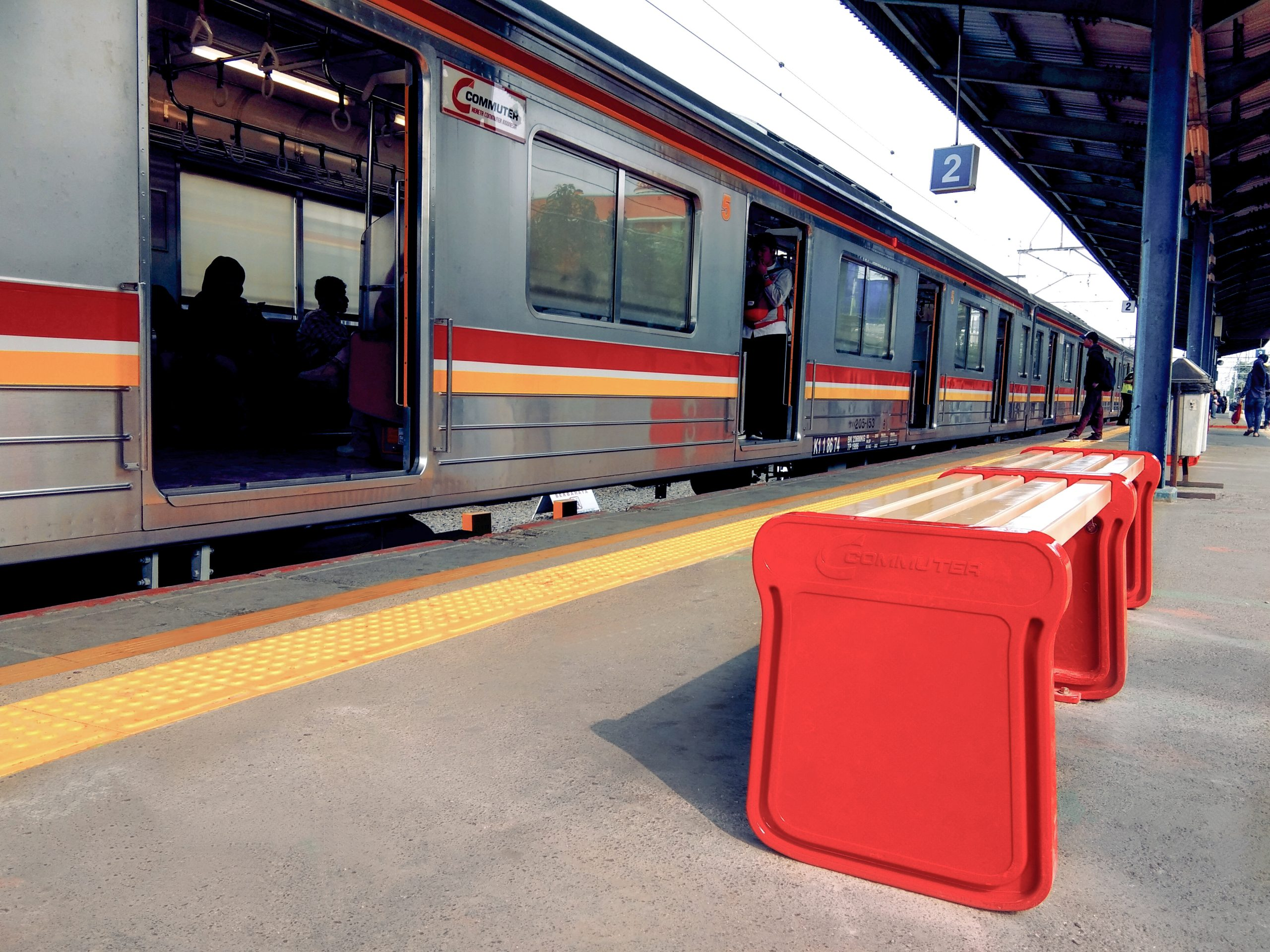 Angke Railway Station, Tambora